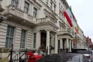 سفارت+ایران+در+لندن+گشایش+یافت