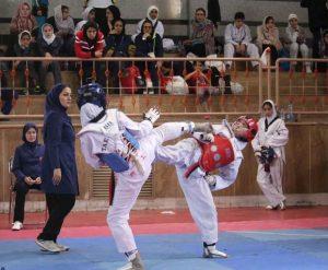 n83125151 72701571 300x247 - بانوان گیلانی در مسابقات تکواندو سه مدال کسب کردند